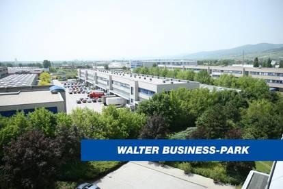 Attraktives Büro inkl. Lager im Süden Wiens, provisionsfrei! - WALTER BUSINESS-PARK