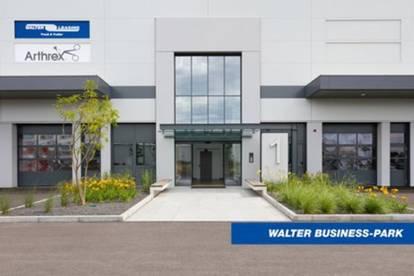 Perfekt ausgestattetes Büro (171 m²) mit Lager (536 m²) im Süden Wiens, provisionsfrei - WALTER BUSINESS-PARK