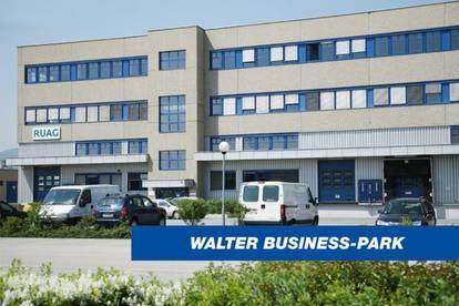 Hochwertige Lager- und Büroflächen im Süden Wiens, provisionsfrei - WALTER BUSINESS-PARK