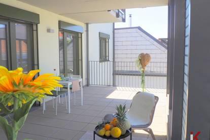 Terrassentraum mit viel Platz! OPEN HOUSE jeden Samstag im August 10.00 - 12.00 Uhr in der Leopold Gattringer-Str. 110!