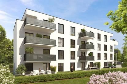 Stilvoll Wohnen in Waltendorf | Exklusive 90m² Erstbezugswohnung mit Balkon in urbaner Ruhelage!