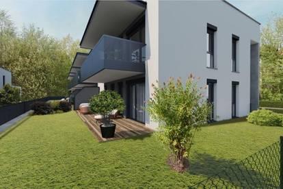 4-Zimmer Erstbezugswohnung mit Garten in urbaner Grünruhelage   Perfekt für Paare und Jungfamilien - ab Sommer 2022