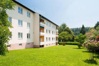 Wohnen in Grünruhelage | Gepflegte Mietwohnung in Zinshaus mit Küche + Loggia ab sofort verfügbar