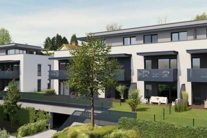 Lichterfüllte, elegante 4-Zimmer Erstbezugswohnung mit 2 Balkonen begrünter Ruhelage - direkt vom Bauträger