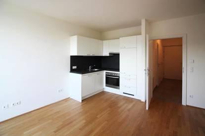 Moderne Mietwohnung mit kleinem Garten und Terrasse, inkl. Küche und TG-Platz   ab sofort frei!