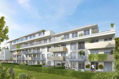 Quality Living im Herzen von Graz | 74m² Terrassentraum in ruhiger, begrünter Umgebung | direkt vom Bauträger - ab Anfang 2021