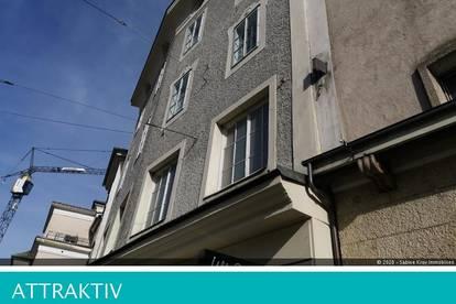 Erstbezug: Top renovierte 2 Zimmer- Altbauwohnung an der Salzach!