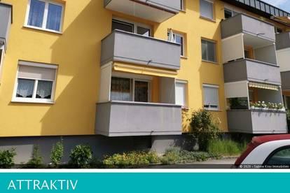Kompakte 2 Zimmerwohnung mit Balkon- vollständig möbliert- Josefiau