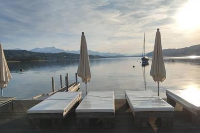 Eigentumswohnung mit privatem Seezugang in Pörtschach
