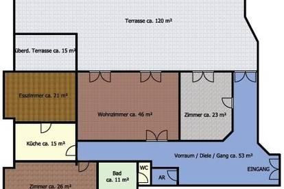 Wörgl: 217m²-Wohnung mit großer Südwest-Terrasse