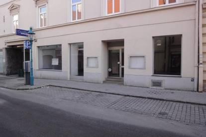 Geschäftslokal zwischen Fußgeherzone und Landesregierung!