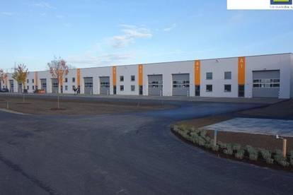 GEWERBEPARK mit HALLEN ab 170 m² und BÜRORÄUMEN