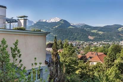 Villa Panorama über der Stadt