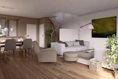 Modernes Doppelhaus mit Keller