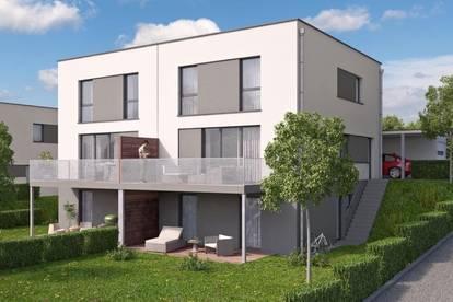 Engerwitzdorf: Modernes Doppelhaus mit Keller