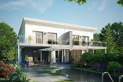 Modernes Doppelhaus in Top-Lage