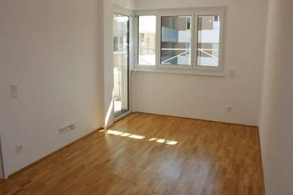 PÄRCHENHIT! ERSTBEZUG! Kemser Landstraße, 55 m2 Neubau inklusive 9 m2 Loggia, 2 Zimmer, Komplettküche, Fußbodenheizung,