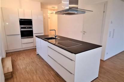 DACHTERRASSENHIT! Klimatisierte 89 m2 Neubau mit 50 m2 Terrasse, 2 Zimmer, Wohnküche, Wannenbad, Maximilianstraße
