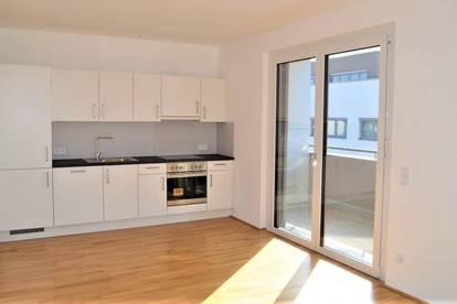 SONNIGE 48 m2 Neubau inkl. 6 m2 Loggia, Provisionsfrei!! Erstbezug! Kremser Landstraße, 2 Zimmer, Komplettküche, Fußbodenheizung,