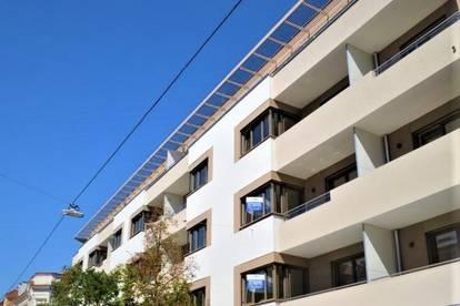 PÄRCHENHIT! ERSTBEZUG! Kremser Landstraße, 48 m2 Neubau inklusive 6 m2 Loggia, 2 Zimmer, Komplettküche, Fußbodenheizung, Provisionsfrei!!!