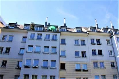 SINGLEHIT - HARDTGASSE; SONNIGE 30 m2 NEUBAU-GARCONNIERE; U4/U6-Nähe; Einzelwohnraum, Kochnische, Wannenbad; Parketten