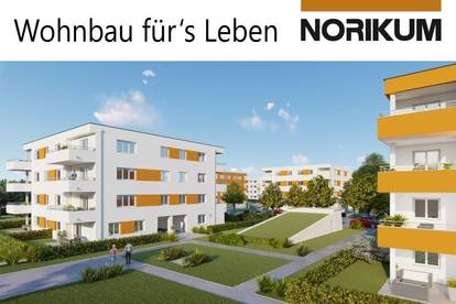 Wels, Wohnpark Zellerstraße Süd - Familienwohnung mit Garten D1/4/EG