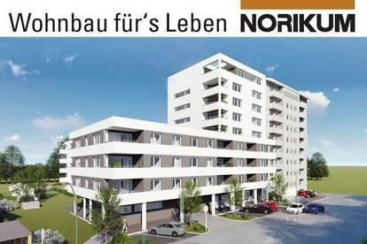Vöcklabruck, Wohnpark Heschgasse - Eigentumswohnung mit Loggia/Balkon - 1/2/1.OG