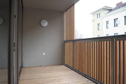 Neubauwohnung Anzengruberstraße, 85 m² WNFL inkl. Loggia + Balkon 6,3 m², Tiefgarage optional! Erstbezug!