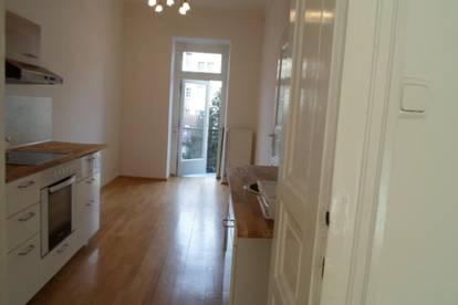 Melicharstraße: Entzückende, ruhige 2-Zimmerwohnung mit Balkon, ablösefreie Küche, 36,70m2 WNFL, 1.Stock