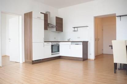 Schöne Zweizimmerwohnung, 50 m² WNFL, Küche möbliert (ohne Ablöse), Parkplatz optional, nähe Musiktheater!