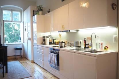 Sehr schöne Altbauwohnung, 116 m² WNFL inkl. neuwertiger Küche, nähe Promenade!