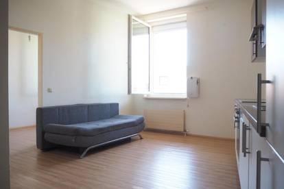 Hübsche 2-Zi-Whg. mit 40 m² WNFL, Küche möbliert (ohne Ablöse) im 3. Liftstock, Parkplatz optional!