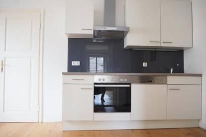 Schöne ruhige Altbauwohnung in der Starhembergstraße, 83 m² WNFL, Küche möbliert, 3. OG ohne Lift, Top 13