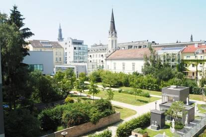 Palais Bismarck! Sonnige 4-Zimmer-Wohnung mit Balkon, 80 m² WNFL, Küche möbliert! Straßenbahn- und Landstraßennähe! Herrliche Sicht in Innenhof! Top 9