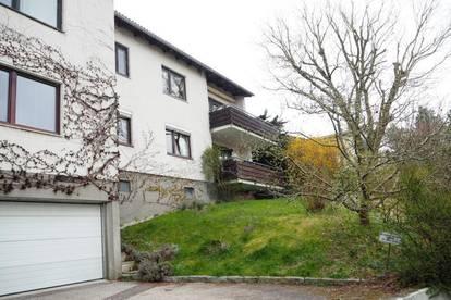Linznähe! Sonnige ruhige 118 m² WNFL plus 14 m² Balkon am Pöstlingberg, teilmöbliert, 5 Zimmer, Garage! Geniale Fernsicht!