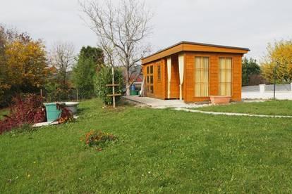 Freizeitgrundstück mit Gartenhaus in Außertreffling/Linznähe! 1030 m² Grundfläche eingezäunt mit Parkplätze!