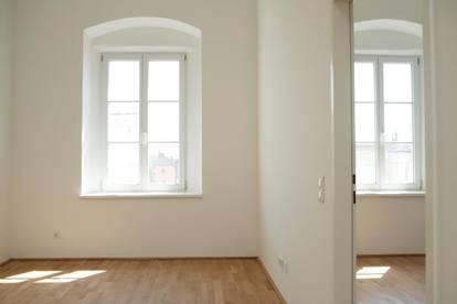 Erstbezug Top10! Sonnige generalsanierte 2-Zimmer-Wohnung in Enns Zentrum, 55 m² WNFL, Küche möbliert! Parkplatz optional!