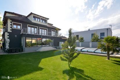 Villa mit Pool in Umland von Wien