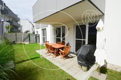 Möblierte 3-Zimmer-Gartenwohnung mit Garage!