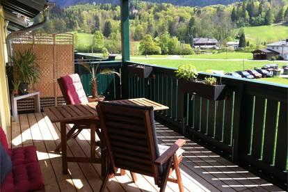 Ruhelage im Grünen! 2 Zimmer Dachgeschoß-Wohnung mit großen Balkon in Großgmain Salzburg