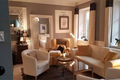 elegante 4 Zimmer Stadtwohnung mit kleinem Garten Maxglan Salzburg Stadt
