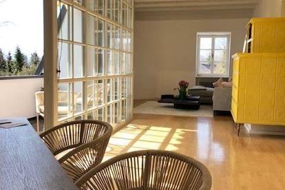 Traumhaftes Wohnen! sonnige 4 Zimmer Dachterrassenwohnung in einer traumhaften Villa Aigen Salzburg Stadt