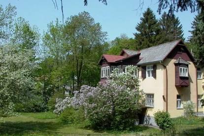 5.000 m² am Waldesrand mit Jahrhundertwende-Villa