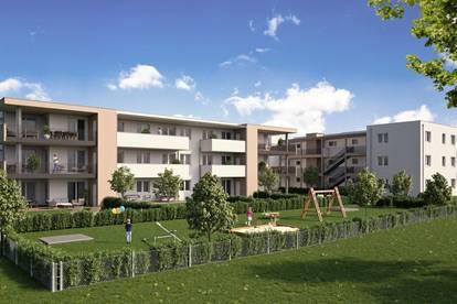 Moderne Gartenwohnung A02 im Zentrum von Traun - wohnbaugefördert