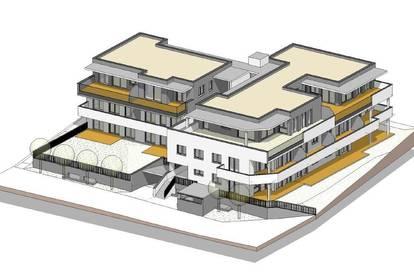 Penthouse 4 Raum-Wohnung Top 13 mit großer Dachterrasse