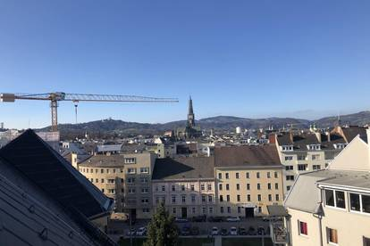 Anlegerwohnung über den Dächern von Linz