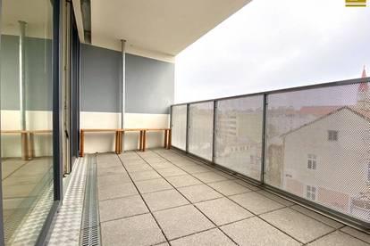 exklusiver Neubau / große Loggia