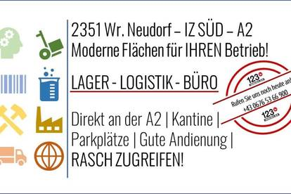 2351 WR. NEUDORF - IZ SÜD - A2 Gewerbeflächen - LAGER & BÜRO