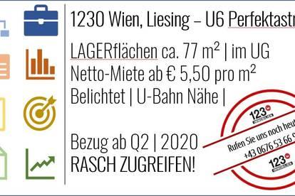 1230 Wien, Lagerfläche, U-Bahn Nähe