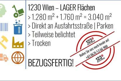 1230 Wien, Lagerflächen - SOFORTBEZUG